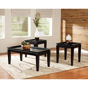 Signature Design by Ashley Delormy Coffee Table Set- Room View