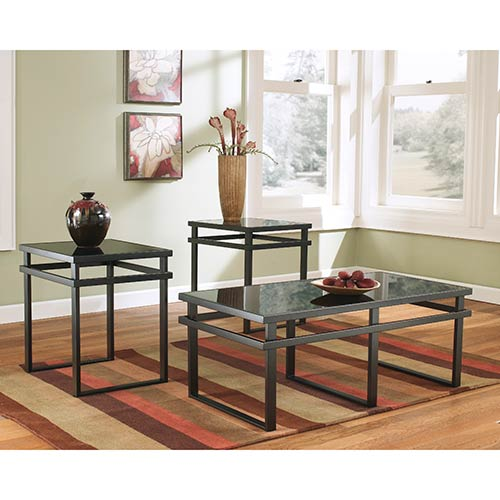 Rent To Own Ashley Laney Occassional Table Sets RentACenter - Ashley center table