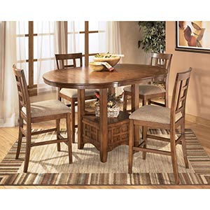 "Ashley ""Cross Island"" 5-Piece Dining Room Set"