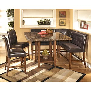 "Signature Design by Ashley ""Lacey"" 6-Piece Bar-Height Dining Room Set"