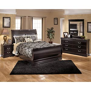 Signature Design by Ashley Esmarelda 6-Piece Queen Bedroom Set- Room View