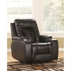 Signature Design by Ashley Matinee DuraBlend-Eclipse Power Recliner
