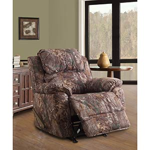 "Home Meridian ""Camo"" Rocker Recliner"