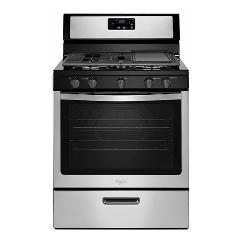 Whirlpool Stainless 5.1 Cu. Ft. Gas Range