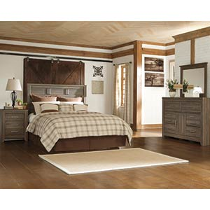 "Signature Design by Ashley ""Juararo"" 4-Piece Queen Bedroom Group"