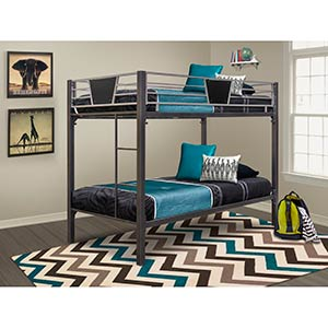 "CYM ""Stanley II"" Twin Over Twin Bunk Bed"