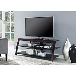 Powell Riley 55 inch TV Stand- Room View