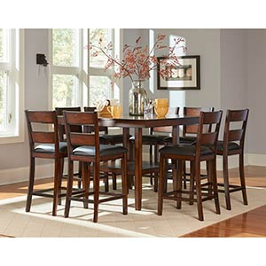"Standard ""Pendwood"" 9-Piece Counter Height Dining Set"