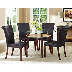 Standard Mirage 5-Piece Dining Set- Room View
