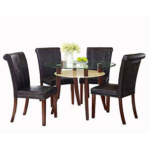 "Standard ""Mirage"" 5-Piece Dining Set"