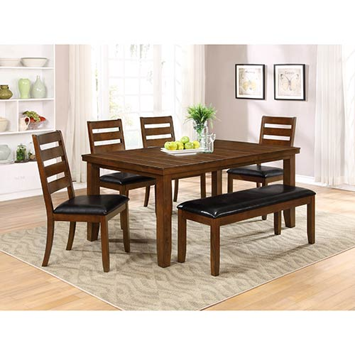 "Powell ""Lemore"" 6-Piece Dining Set"