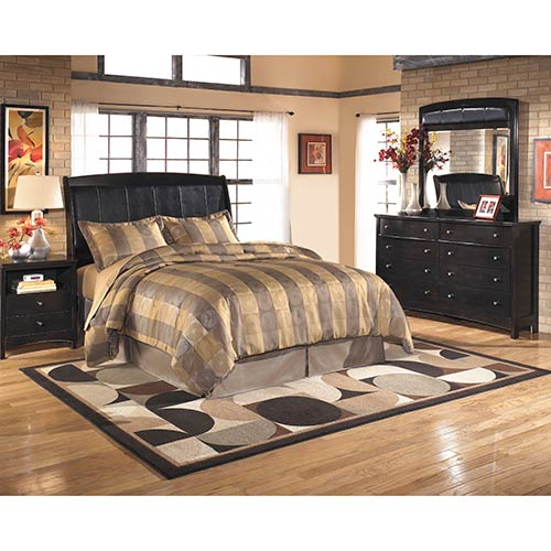 Rent an Ashley Furniture \'Harmony\' 4-Piece Queen Bedroom Set