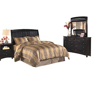 "Signature Design by Ashley ""Harmony"" 4-Piece Queen Bedroom Group"
