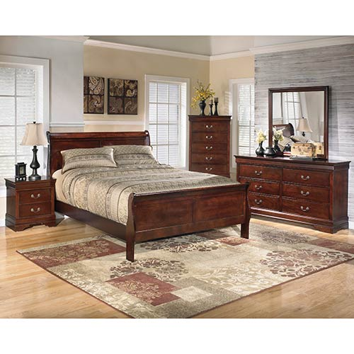 "Signature Design by Ashley ""Alisdair"" 6-Piece Queen Bedroom Set"
