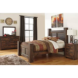 "Signature Design by Ashley ""Quinden"" 7-Piece Queen Bedroom Set"
