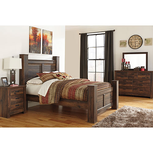 Ashley \'Quinden\' 6-Piece Queen Bedroom Set for Rent - Free ...