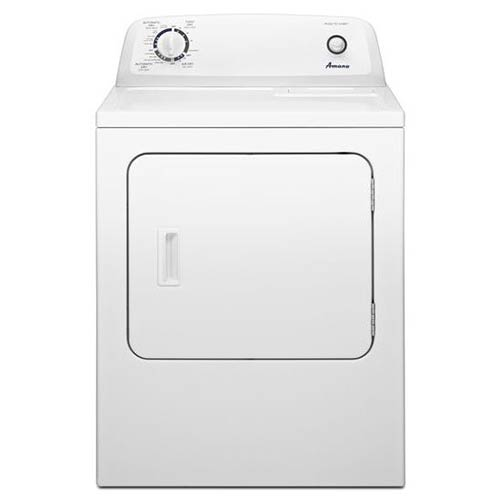 Amana® 6.5 Cu. Ft. Top Load Electric Dryer with Automatic Dryness Control