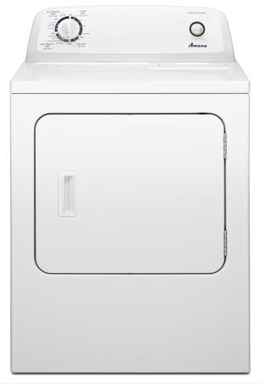 Amana 6.5 Cu. Ft. Front Load Gas Dryer