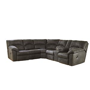 "Signature Design by Ashley ""Tambo-Pewter"" 2-Piece Sectional"