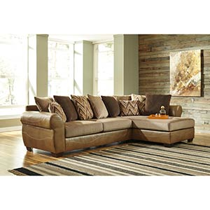 "Benchcraft ""Declain-Sand"" 2-Piece Sectional"