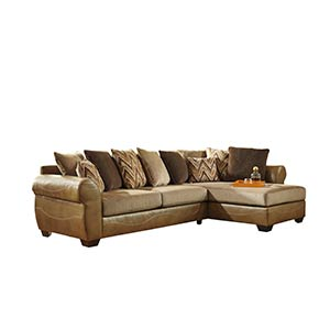 "Benchcraft ""Declain-Sand"" 2-Piece Sectional (standalone)"