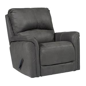 "Signature Design by Ashley ""Ranika-Gray"" Rocker Recliner"