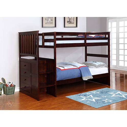 Rent Powell \'Newton\' Twin/Twin Bunk Bed Set