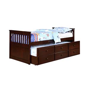 "Powell ""Austin"" Twin/Twin Trundle Bed Set"