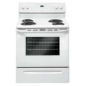 Frigidaire 5.3 Cu. Ft. Freestanding Coil-Top Electric Range – White