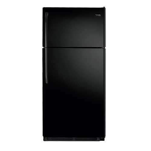 Frigidaire Black 18 Cu. Ft. Top Mount Refrigerator