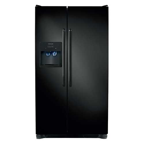 Frigidaire Black 23 Cu. Ft. Side-by-Side Refrigerator