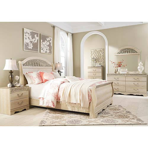 Rent An Ashley Catalina 7 Piece Queen Bedroom Set