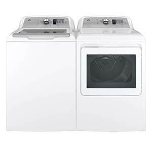 GE 4.6 Cu. Ft. Washer and 7.4 Cu. Ft. Electric Dryer