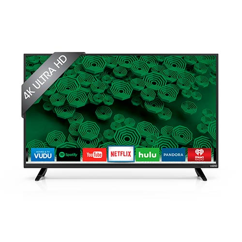 "VIZIO 40"" 4K UHD Smart LED TV D40u-D1"