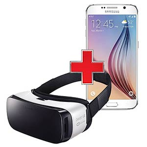 Samsung Galaxy S6 and Gear VR Headset