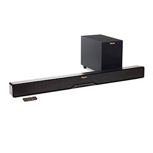 Klipsch 2-Way Soundbar and Wireless Subwoofer