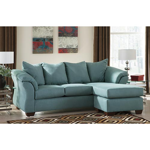 Signature Design By Ashley Darcy Sky Sofa Chaise