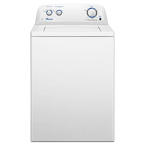 Amana® White 3.5 Cu. Ft. High Efficiency Top Load Washer