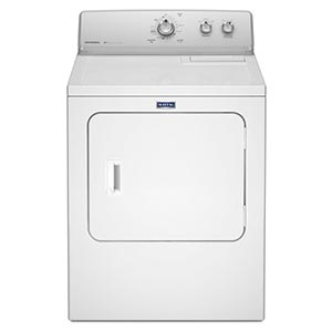 Maytag White 7.0 m Cu Ft. Gas Dryer