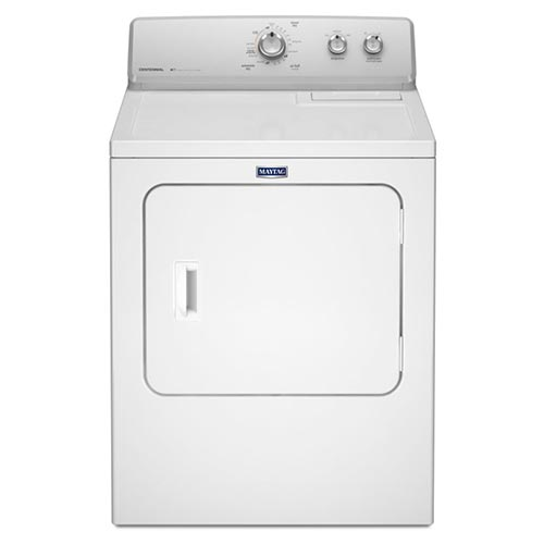 Maytag White 7.0 m Cu. Ft. Gas Dryer
