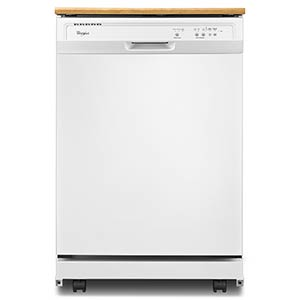Whirlpool® Portable Dishwasher - White