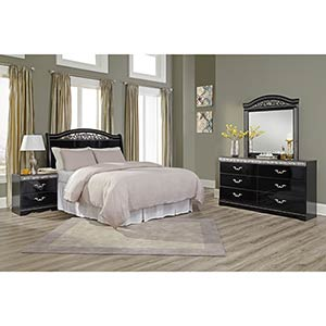 "Signature Design by Ashley ""Constellations"" 4-Piece Queen Bedroom Set"