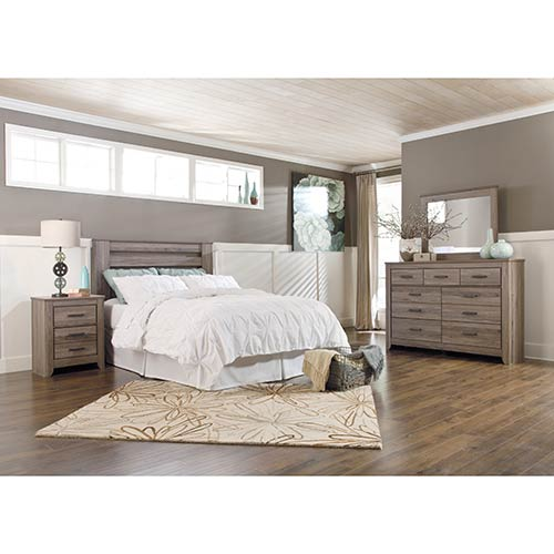 signature design by ashley zelen 4 piece queen bedroom set