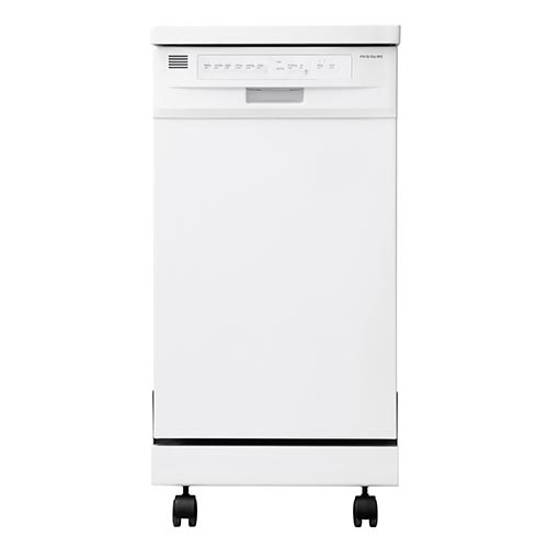 Frigidaire White 18 inch Portable Dishwasher