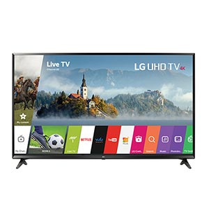 LG 65 inch 4K UHD LED Smart TV 65UJ6300