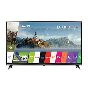LG 43 inch 4K UHD LED Smart TV 43UJ6300