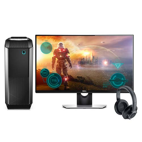 Dell 27 inch Alienware Desktop Gaming Bundle