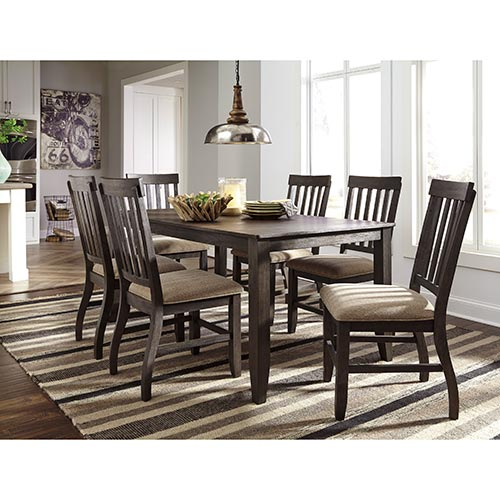 Rent To Own An Ashley Dresbar 7-Piece Dining Set D485-6