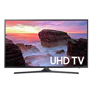 Samsung 50 inch 4K UHD LED Smart TV UN50MU6300