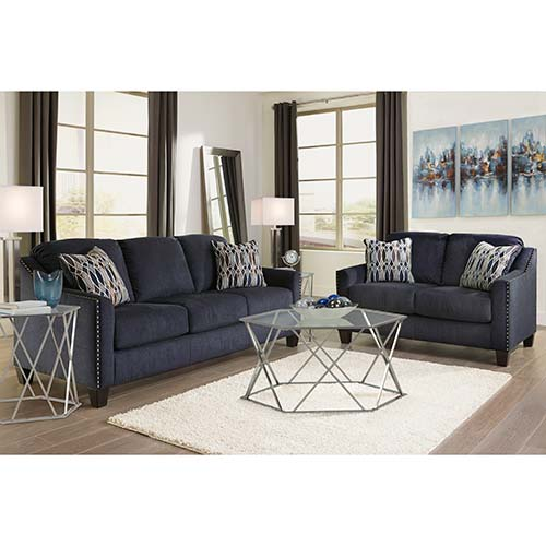 Rent Ashley \'Creeal Heights Ink\' 7 Piece Living Room Set
